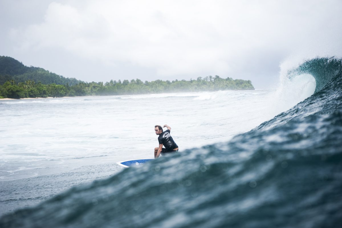 Secret surf mission on Kudanil Explorer in Papua