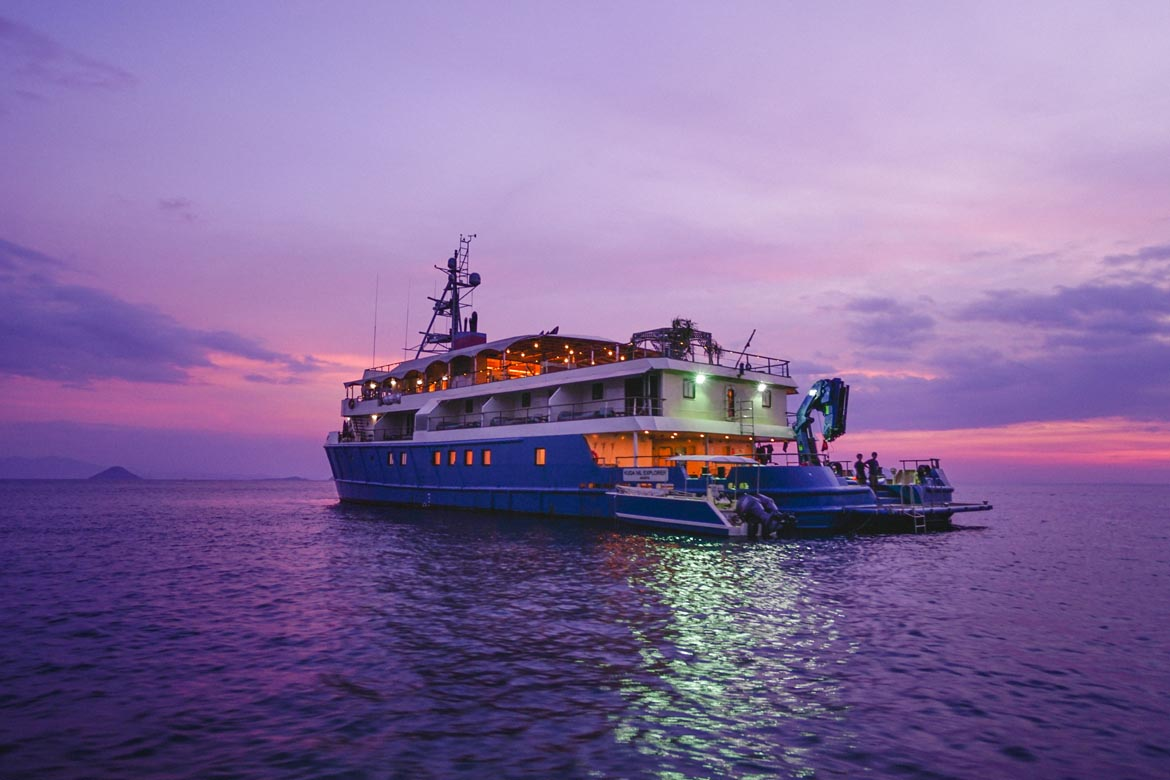 Safety Vessel Becomes Luxury Yacht