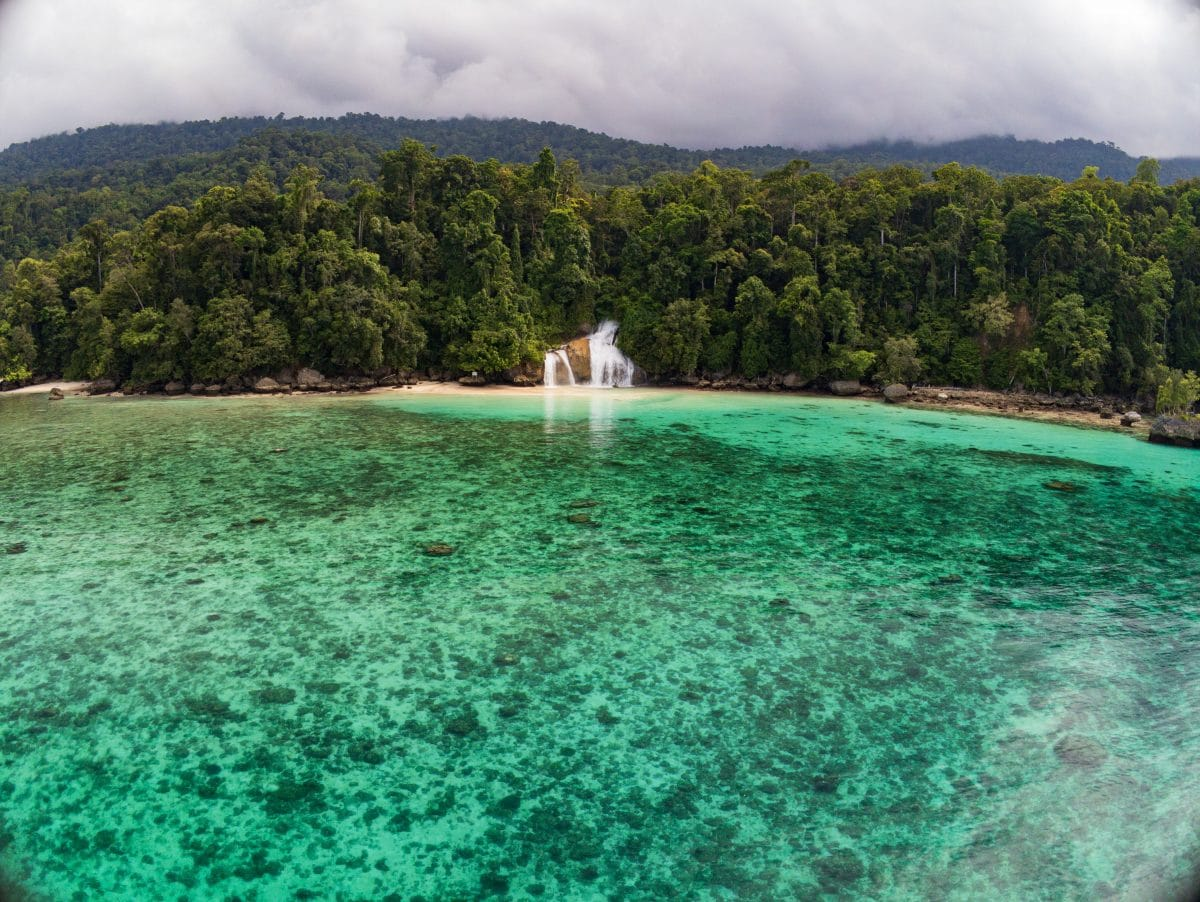 Kudanil Explorer Papua Kiti Kiti Waterfalls