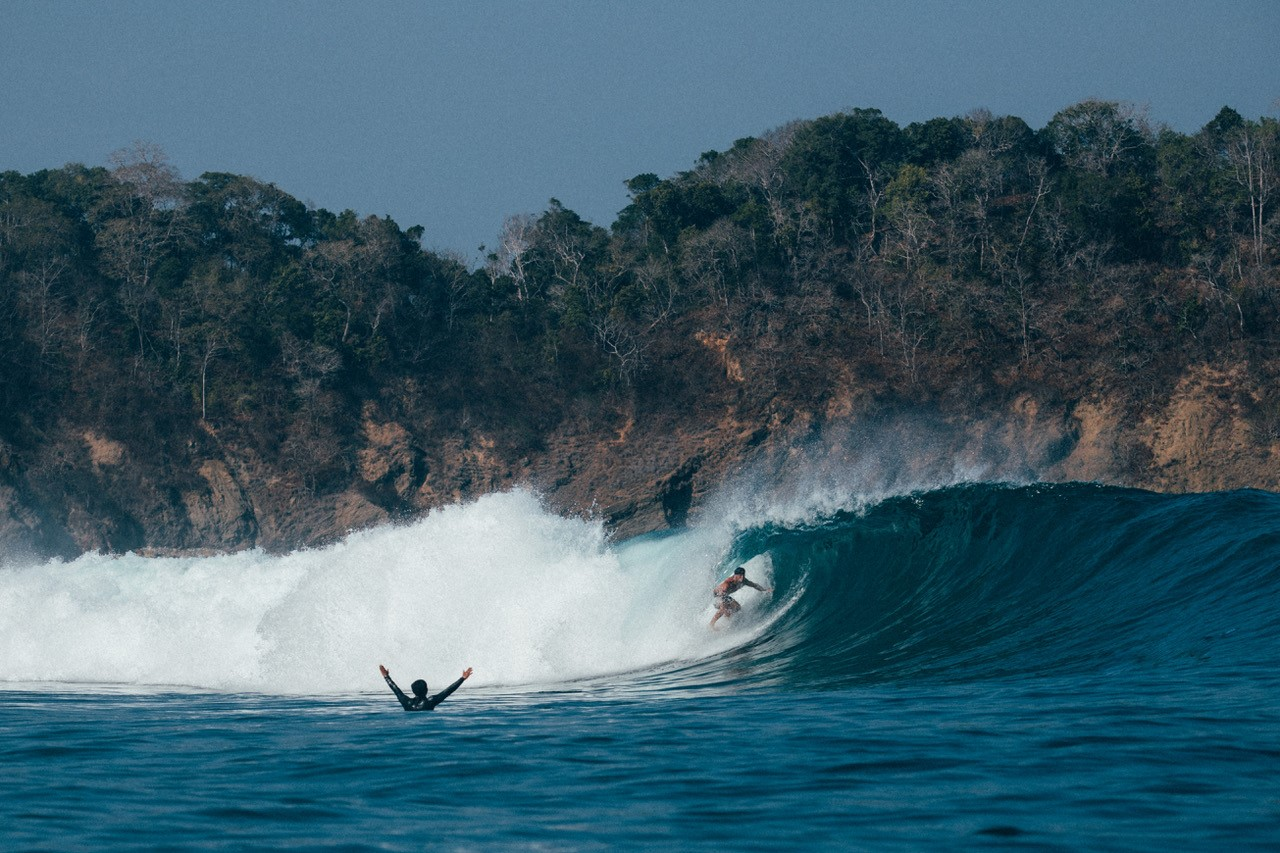In search of secret surf breaks in the Savu Sea