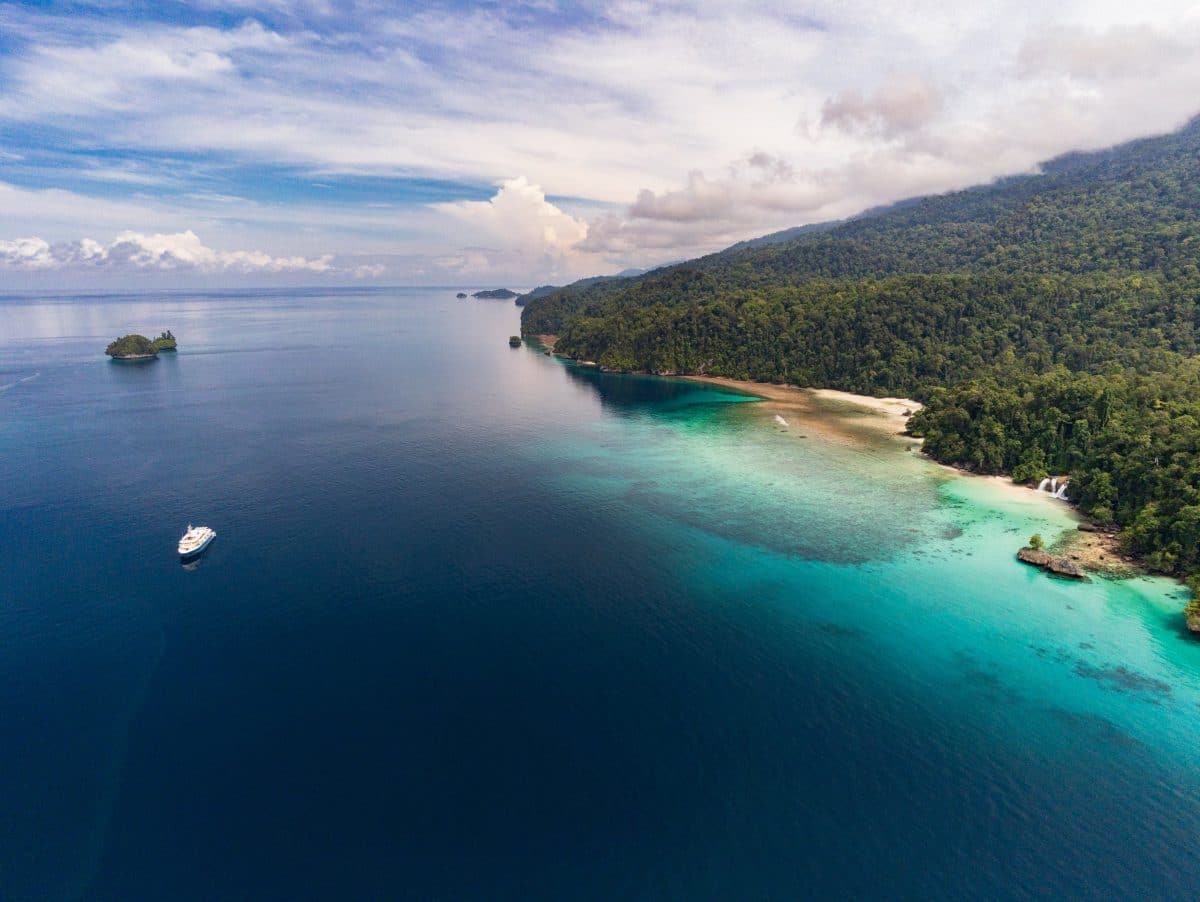 Kudanil Explorer and Traveller Magazine explored Triton Bay